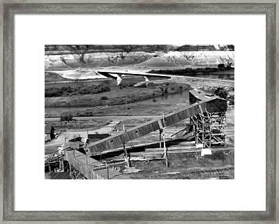 Atlas Coal Mine B Framed Print