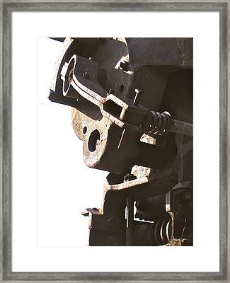 Framed Print featuring the photograph Atlas Coal Mine by Brian Sereda