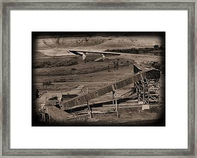Atlas Coal Mine C Framed Print