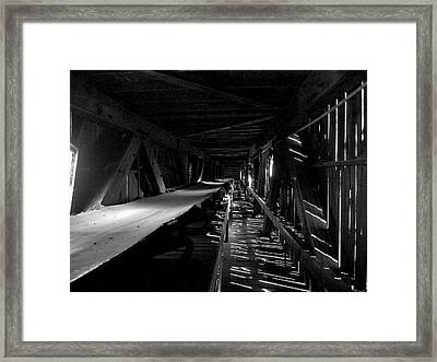 Framed Print featuring the photograph Atlas Coal Mine2 by Brian Sereda