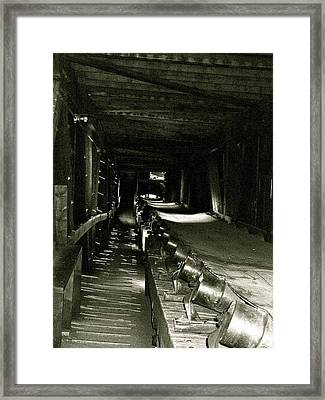 Framed Print featuring the photograph Atlas Coalmine by Brian Sereda