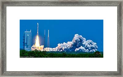 Atlas Launch Framed Print