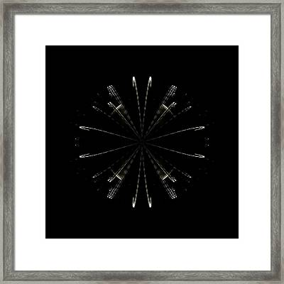 Atom Framed Print by John O Doherty