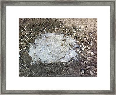 Atomic Ice Framed Print