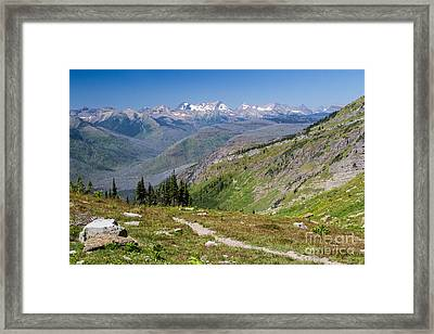 Framed Print featuring the photograph Atop Haystack Butte by Katie LaSalle-Lowery