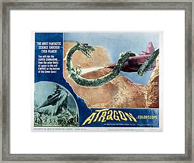 Atragon, Aka Kaitei Gunkan, 1963 Framed Print by Everett
