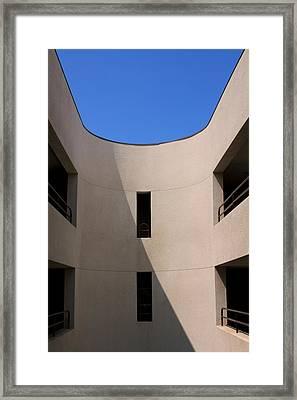 Atrium 3 Palm Springs Framed Print