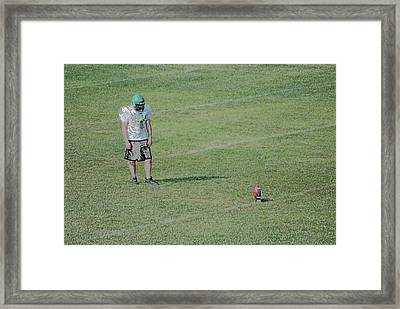 Attentiveness Digital Art Framed Print