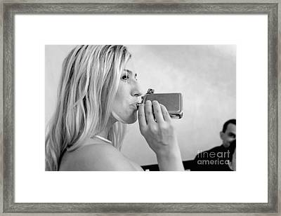 Attitude Adjustment Framed Print
