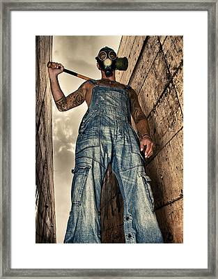 Attitude Framed Print by Stelios Kleanthous