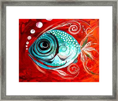 Attract Framed Print by J Vincent Scarpace