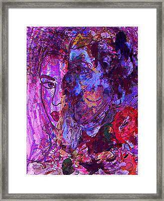 Attraction Framed Print by Natalie Holland