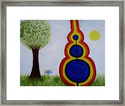 Attune - To Bring Into Harmony. Framed Print