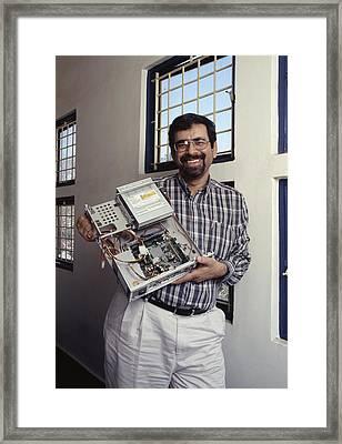 Atul Chitnis, Computer Consultant Framed Print by Volker Steger