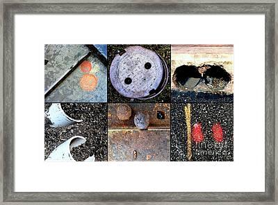 Au Pair Framed Print by Marlene Burns