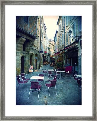 Auch- Rue Dessoles Framed Print by Sandrine Pelissier
