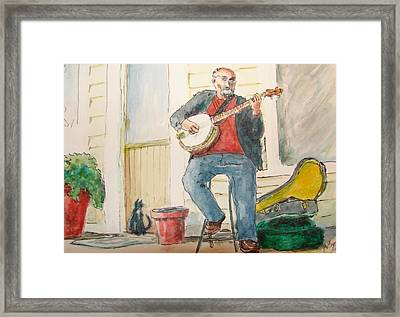 Audience Of One Framed Print by Patsy Kline
