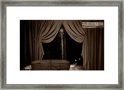 Audience Volunteers Wanted - S Framed Print by David Dehner