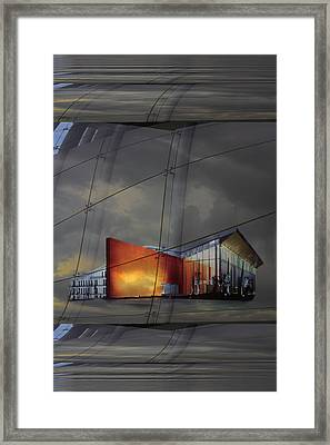 Auditorium Miguel Delibes Framed Print