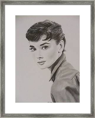 Audrey Framed Print by Mike OConnell