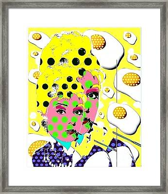 Audrey Framed Print by Ricky Sencion