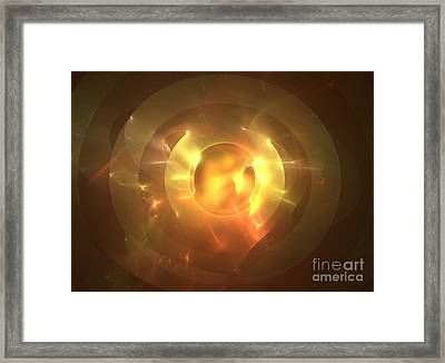 Auge Framed Print by Kim Sy Ok