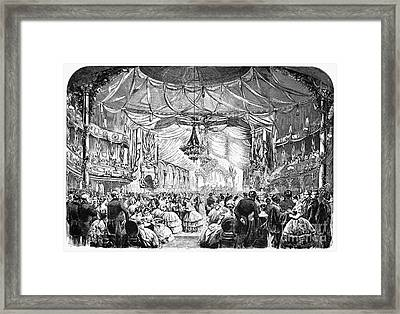 August Belmont (1816-1890) Framed Print