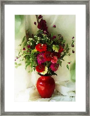 August Bouquet 2008 Framed Print