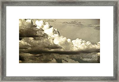 August Monsoon Clouds 5 Framed Print by Methune Hively