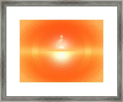 Aum Framed Print by Harald Dastis