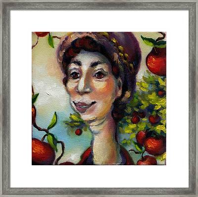 Aunt Berta Framed Print