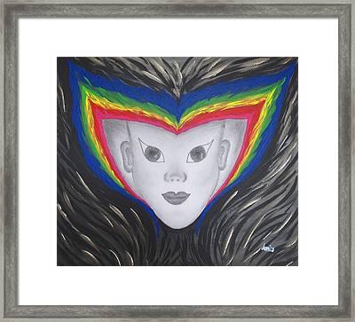 Aura Framed Print by Marianna Mills