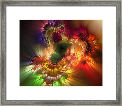 Auras Emotional Reflections Framed Print