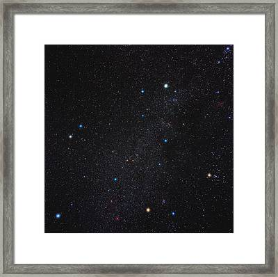 Auriga Constellation Framed Print by Eckhard Slawik