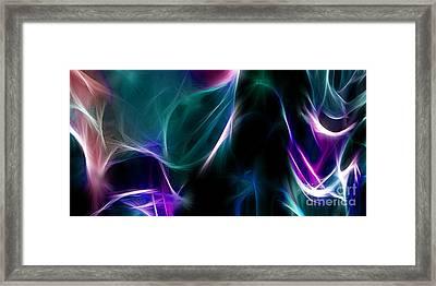 Aurora Fractal Framed Print by Peter Piatt