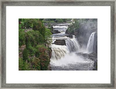 Ausable Chasm 5172 Framed Print by Guy Whiteley