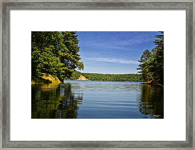 Ausable River In June Framed Print