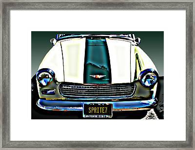 Austin Healey Sprite Framed Print by Samuel Sheats