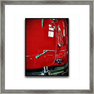 Austin Healy 3000 Framed Print by Paul Cutright