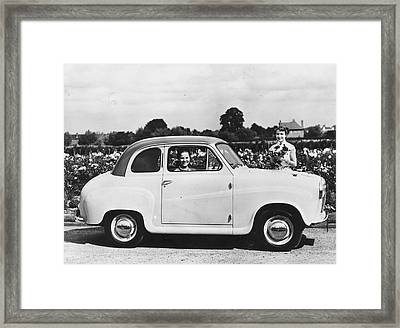 Austin Seven Framed Print by Topical Press Agency