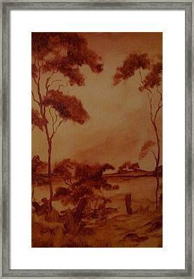 Australia  Framed Print by Paul Morgan