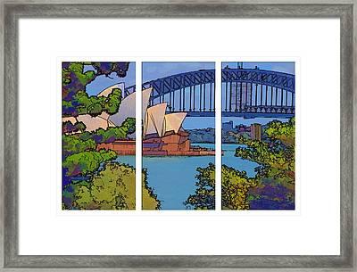 Australian Icons 1 Framed Print