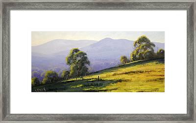 Australian Landscape Framed Print