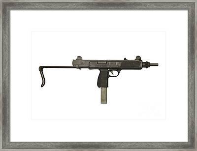 Austrian 9mm Steyr Mpi 81 Submachine Framed Print by Andrew Chittock