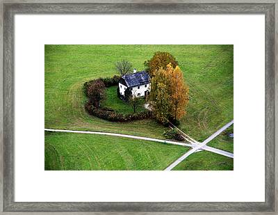 Austrian Cottage Framed Print by Anthony Citro