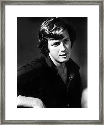 Author Michael Crichton In A Publicity Framed Print