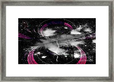 Authority In The Sky Framed Print by Fania Simon