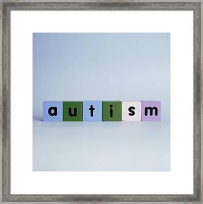 Autism Framed Print by Cristina Pedrazzini