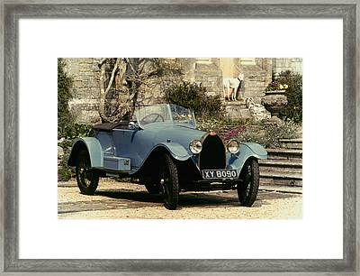 Auto: Bugatti Type, 1925 Framed Print by Granger