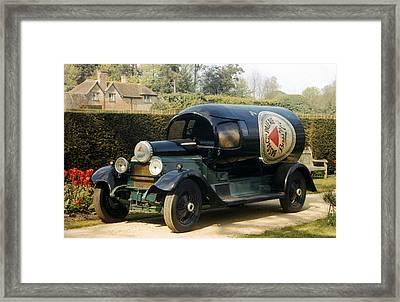 Auto: Daimler, 1921 Framed Print by Granger